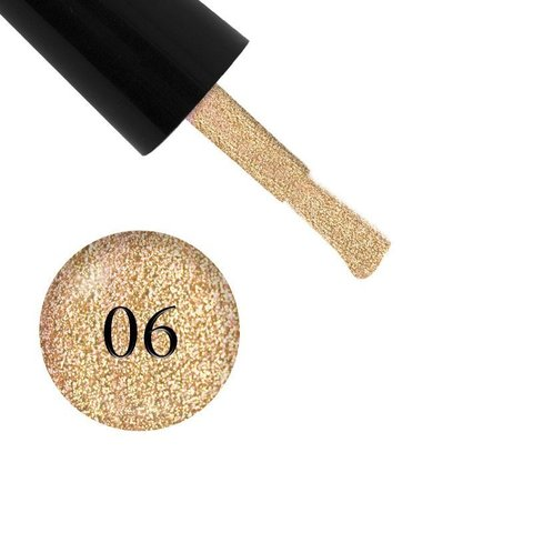 Гель лак Glitter Shine Gel, Starlet,06