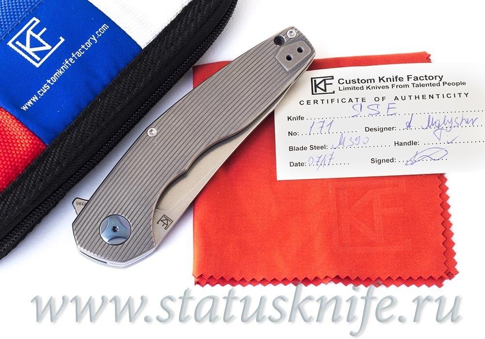 Нож CKF S.S.E.  (М390, титан, подшипники)