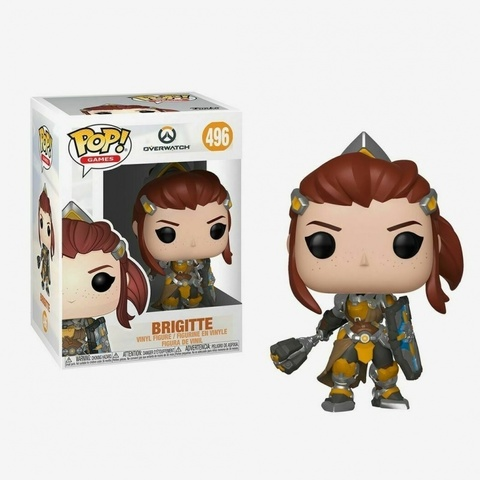 Фигурка Funko POP! Vinyl: Games: Overwatch S5: Brigitte 37429