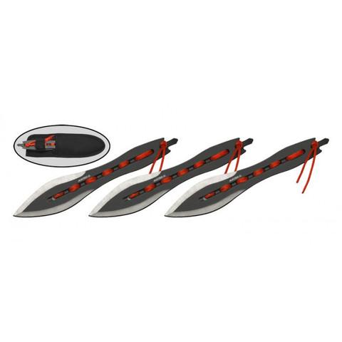 Набор из 3-х метательных ножей MS006N3
