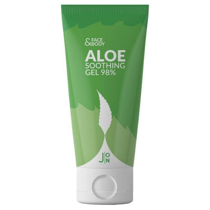 Многофункциональные гели Гель для лица и тела универсальный АЛОЭ J:ON Face & Body Aloe Soothing Gel 98% 200 мл 15136_0.jpg