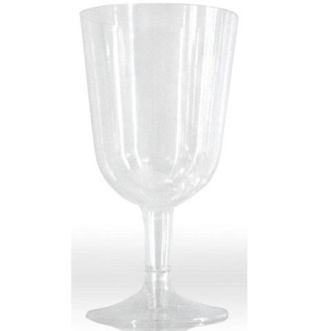 Бокал прозрачный для вина 200 мл(прозр съемная ножка)
