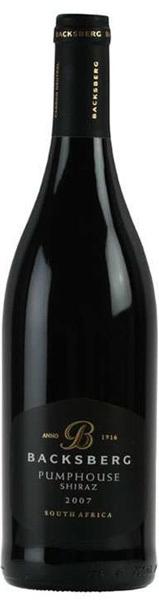 Вино Баксберг Пампхаус Шираз красное сухое 0,75л