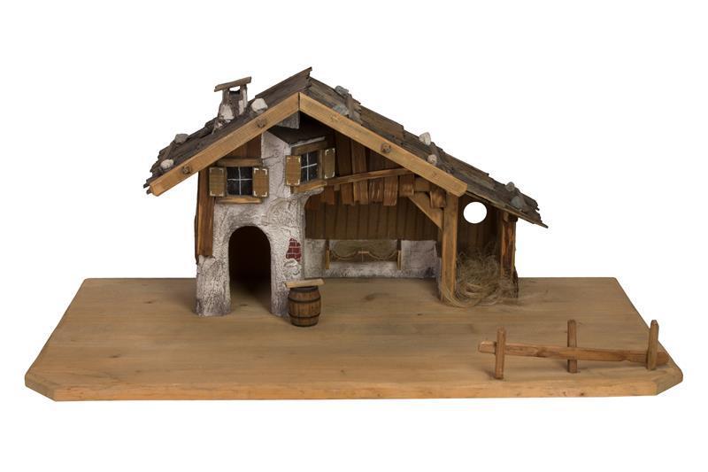 Дом с бочонком