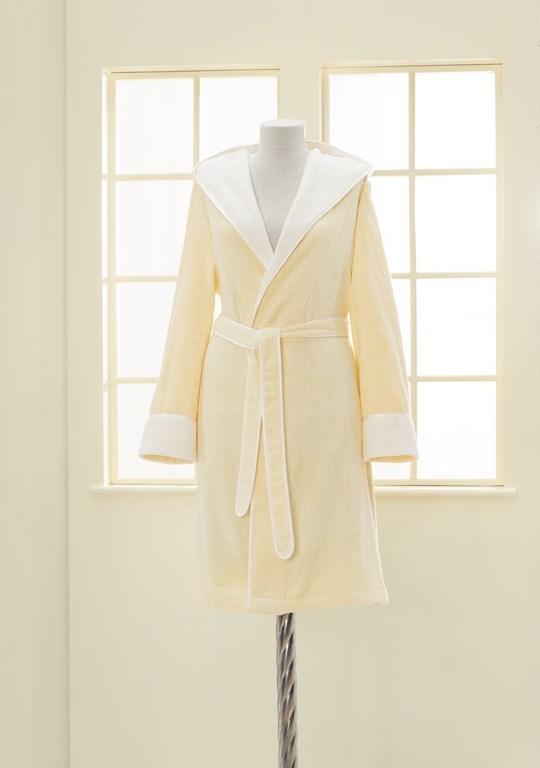 Халаты женские NEHİR - НЕГИР желтый бамбуковый женский халат Soft Cotton (Турция) NEHİR_желт.jpg