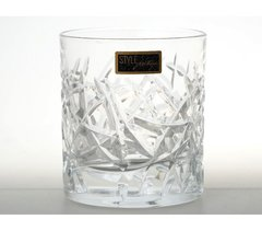 Набор стаканов для виски 290 мл Trama RCR Cristalleria Italiana (2 шт), фото 2
