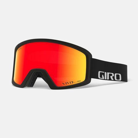 Маска GIRO BLOK Black Wordmark/Vivid Ember 35