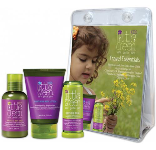 Little Green Kids: Набор  «Первый детский уход» (Kids Essentials Set), 60мл+ 60мл+ 13г