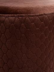Пуф-Локи 40-40 на хромированных опорах (коричневый)