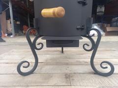 печь Erbe с дверцей и дымоходом 8-16 л.
