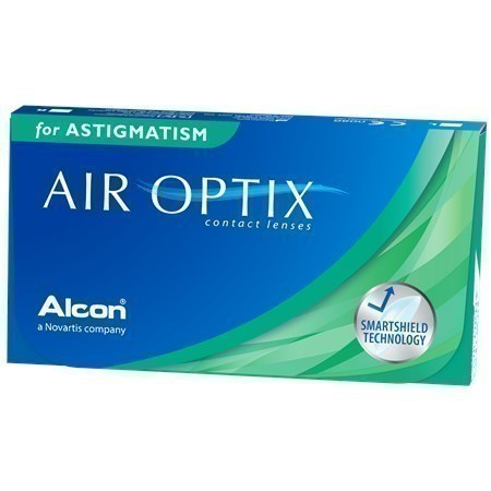 Air Optix for astigmatism CYL -1,25 AXIS 180