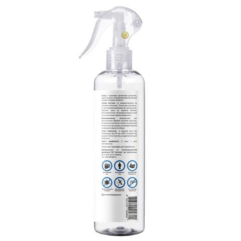 Антисептик спрей для дезінфекції рук, тіла і поверхонь Touch Protect 250 ml (2)