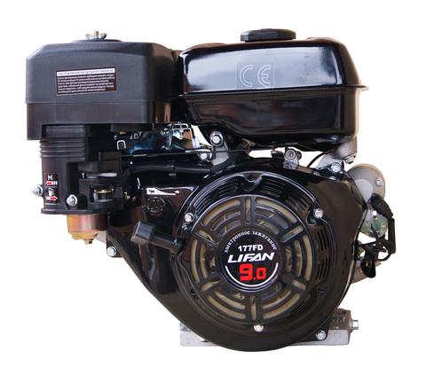 Двигатель LIFAN 177FD, крышка картера F-R, электростартер