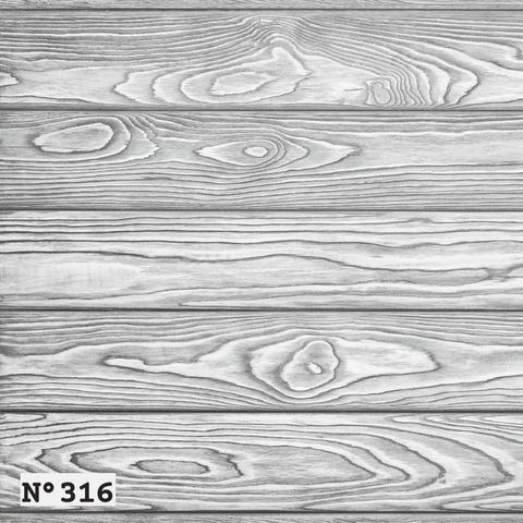 Фотофон виниловый «Серые брашированные доски» №316