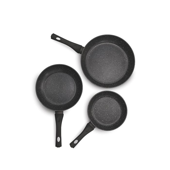Набор сковород BEKA ROCK (20/24/28 см), 3 шт.