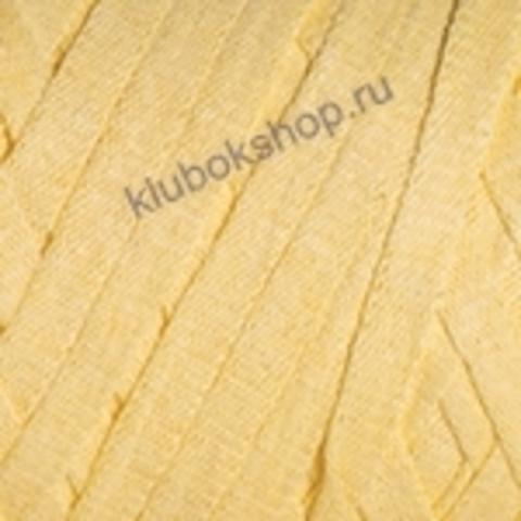 Ленточная пряжа YarnArt Ribbon цвет 754 светло-желтый