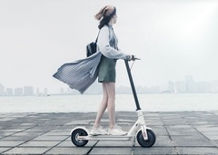 Электросамокат Xiaomi MiJia Smart Electric Scooter M365 (RU + покрышки) белый