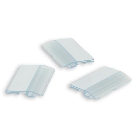 Индексное окно для картотек Han пластиковое прозрачное (10 штук)