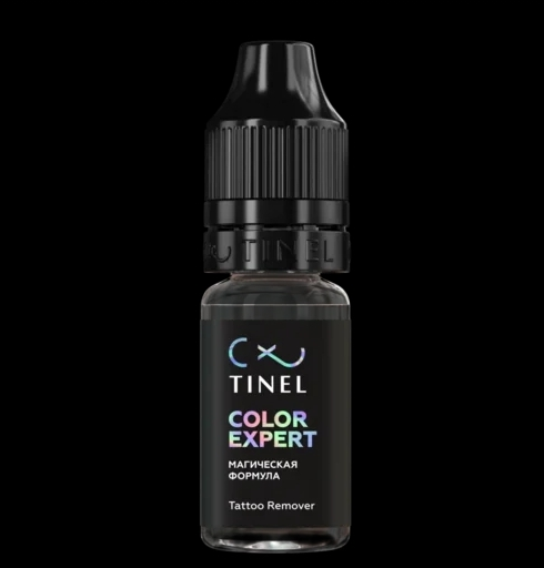 Ремувер от компании Tinel Color Expert (10ml) +Diamond protect 10мл в подарок