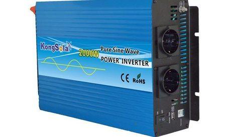 Преобразователь тока (инвертор) KongSolar KS12/2000 (чистый синус)