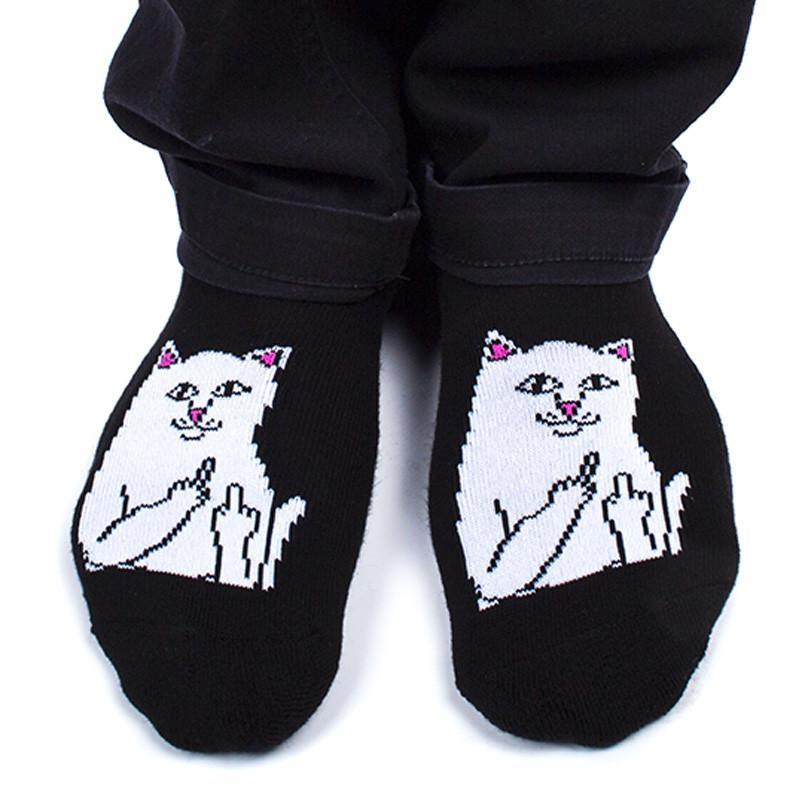 Короткие носки RIPNDIP Lord Nermal Ankle (Black)
