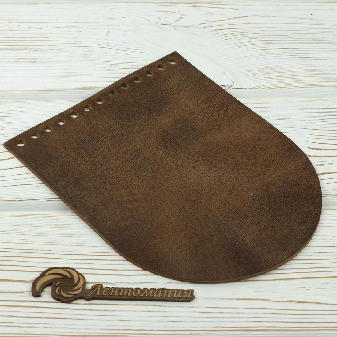 """Вся фурнитура Клапан для сумочки кожаный """"Crazy Horse"""" 19,5 см на 15,5 см IMG_5943.jpg"""