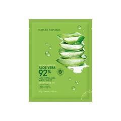 Маска NATURE REPUBLIC Soothing & Moisture Aloe Vera 92% Soothing Gel Mask Sheet 1ea