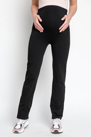 Спортивные брюки для беременных 13066 черный