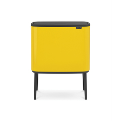 Мусорный бак Touch Bin Bo (36 л), Желтая маргаритка