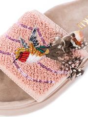 Шлепанцы INUIKII 70104-15 pink