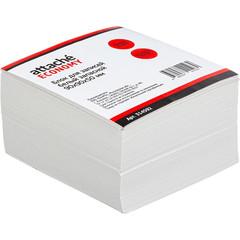 Блок для записей Attache Economy 90x90x50 мм белый (плотность 65 г/кв.м)