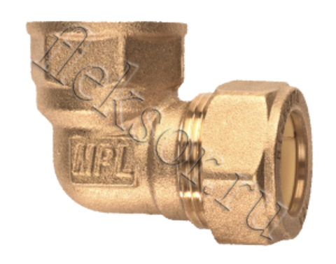 Угольник труба- внутренняя резьба (мама) EF 15*1/2