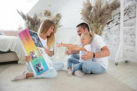 фото-конструктор MOZABRICK - Пксель-арт, собери свою картину по фото и вешай на стену!