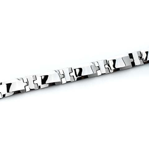 Вольфрамовый браслет SPIKES STM-080