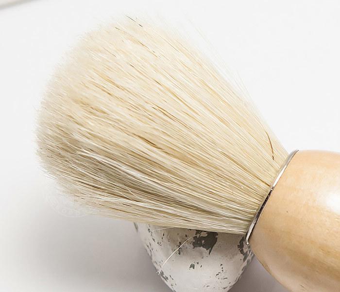 RAZ302-3 Помазок для бритья с деревянной рукояткой фото 03