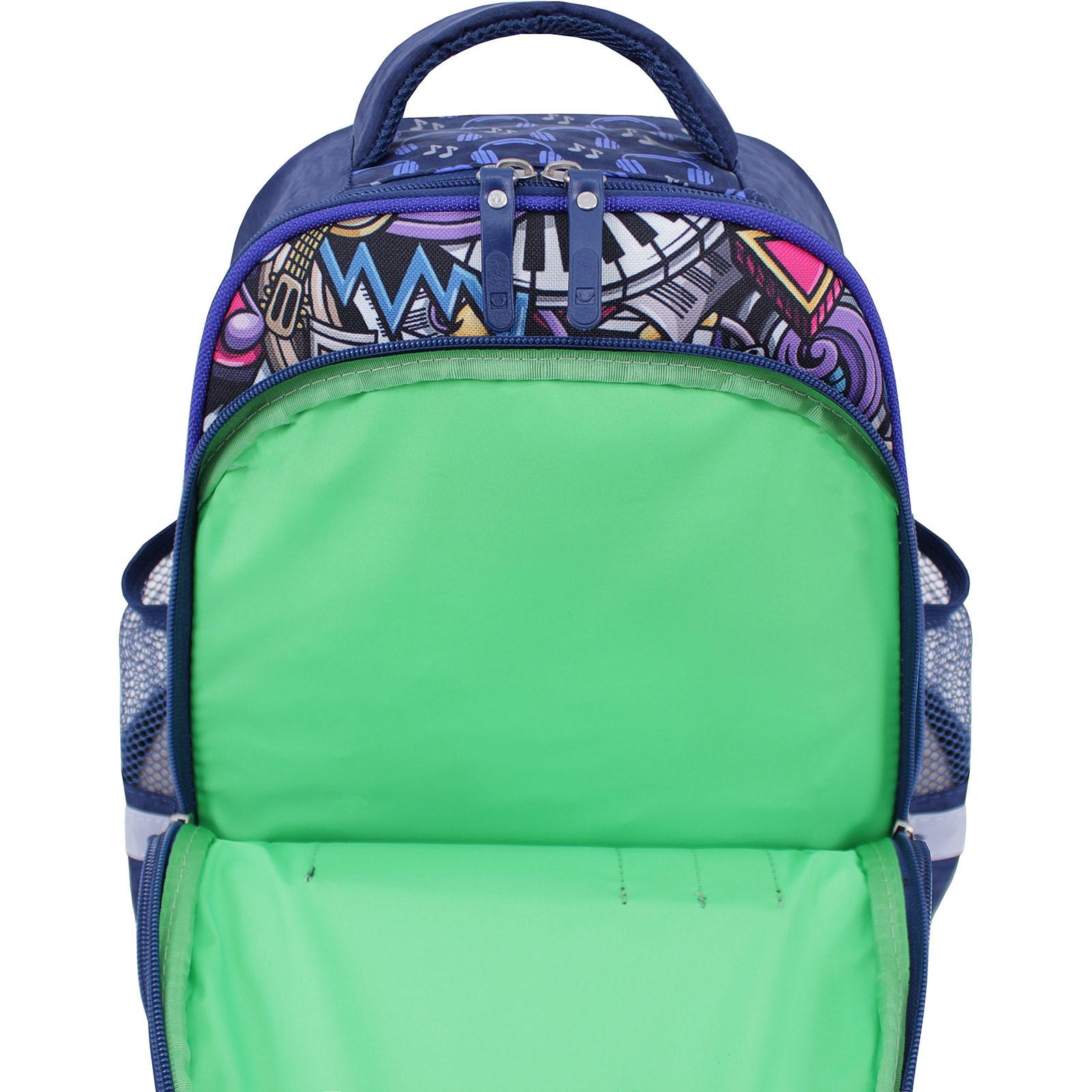 Рюкзак школьный Bagland Mouse 225 синий 614 (0051370) фото 4