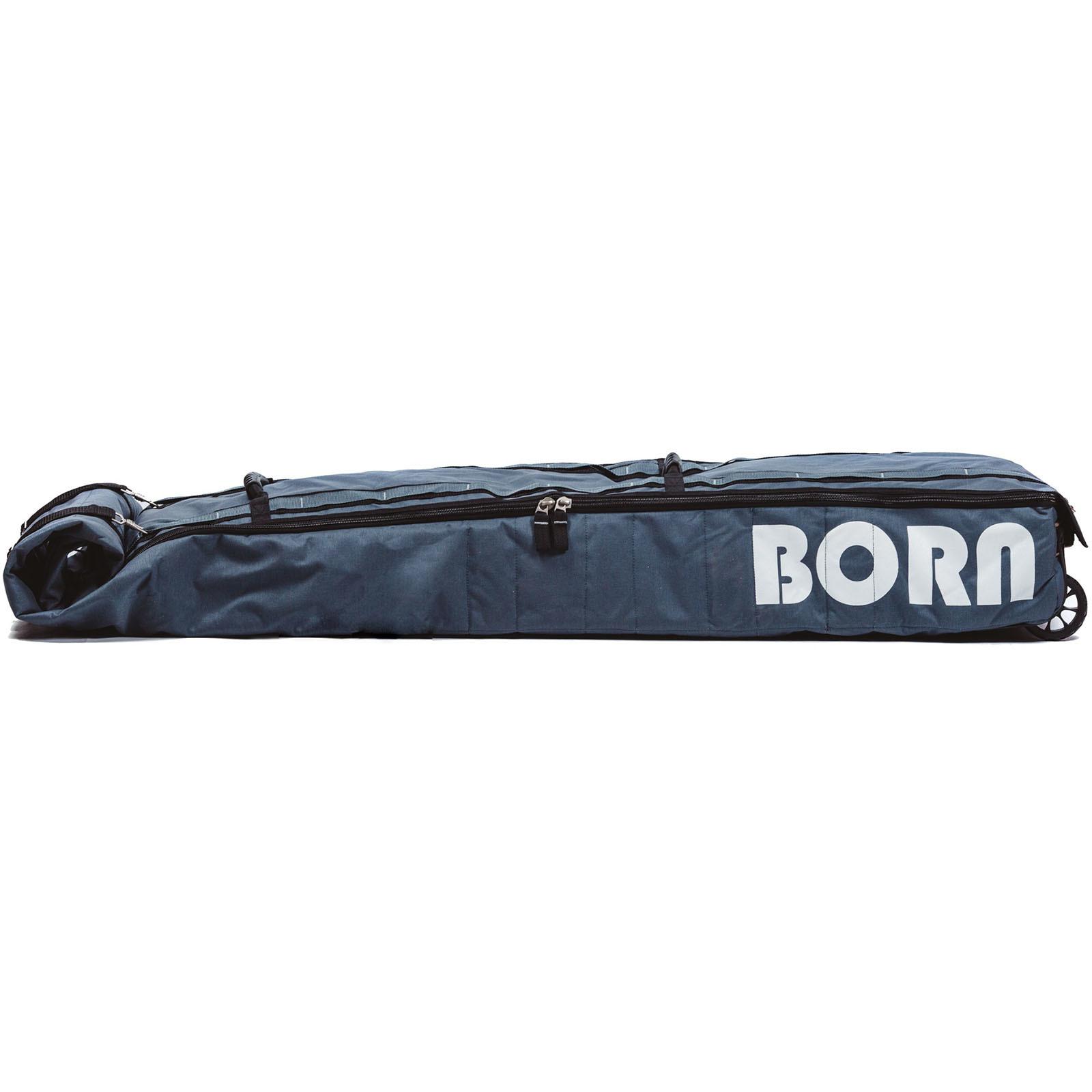 Чехол для лыж и сноуборда на колёсах Born Серый 190 см (0099190)