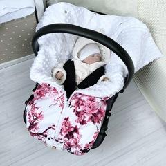 СуперМамкет. Конверт-одеяло всесезонное Мультикокон ®, сакура розовый вид 1