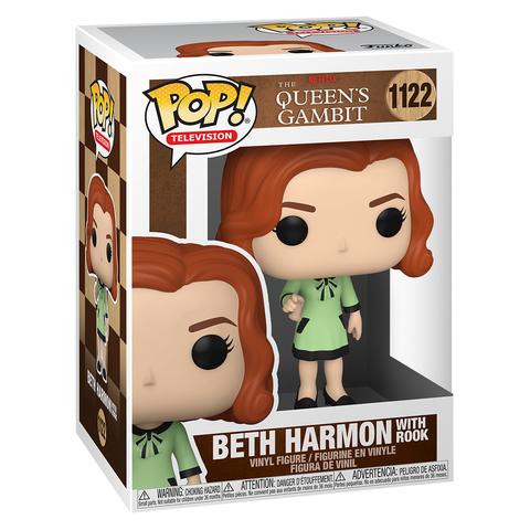 Фигурка Funko POP! TV Queens Gambit Beth Harmon With Rook 57689
