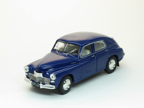 GAZ-M20 Pobeda 2nd series dark blue 1:43 Nash Avtoprom