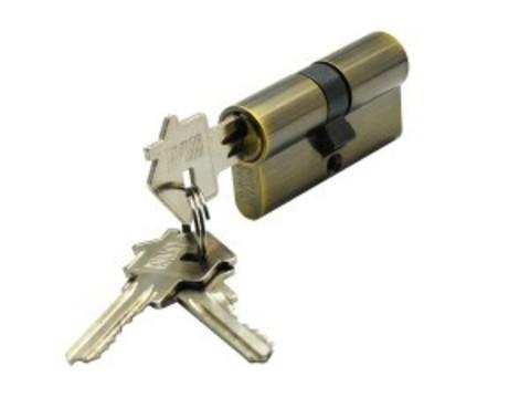 Цилиндр ключ-ключ CYL 3-60 BRONZE