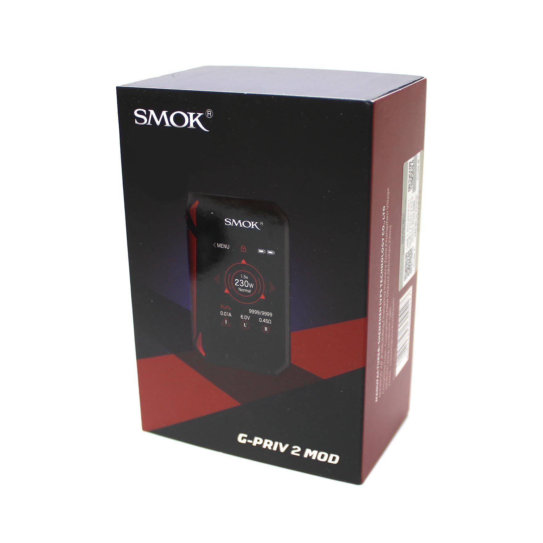Фирменная коробка для боксмода Smok G-Priv 2