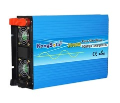Купить Преобразователь тока (инвертор) KongSolar KS12/2000 от производителя, недорого.