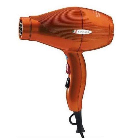 Фен для волос Gamma Piu E-T-C Light 2100 Вт оранжевый