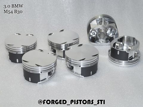Кованые поршни СТИ BMW M54B30 - Артикул 330.07 Forged Pistons STI