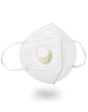 Респиратор KN95 с клапаном, степень защиты FFP2 (белый)