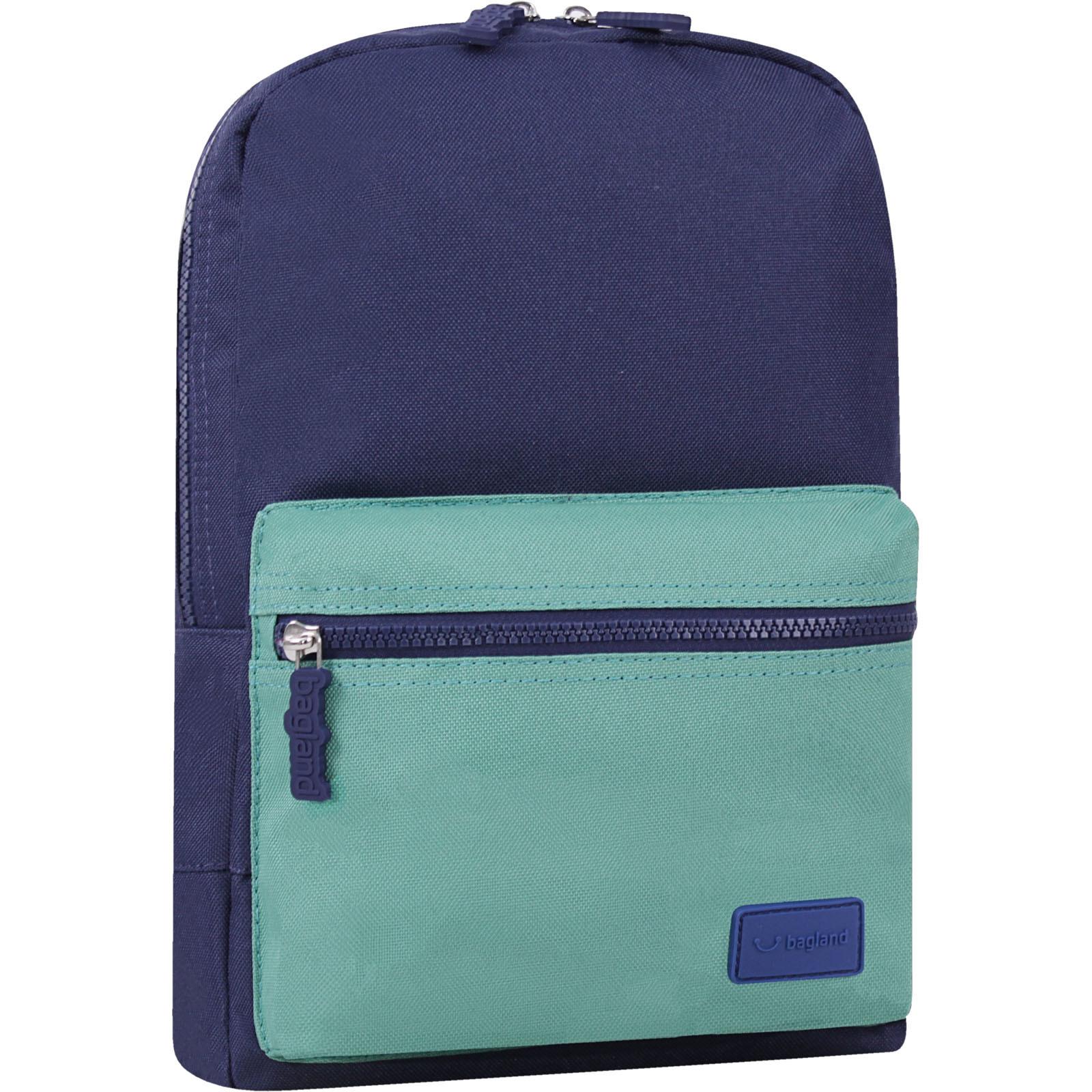 Детские рюкзаки Рюкзак Bagland Молодежный mini 8 л. чернильный/зеленый (0050866) IMG_6811-1600.jpg