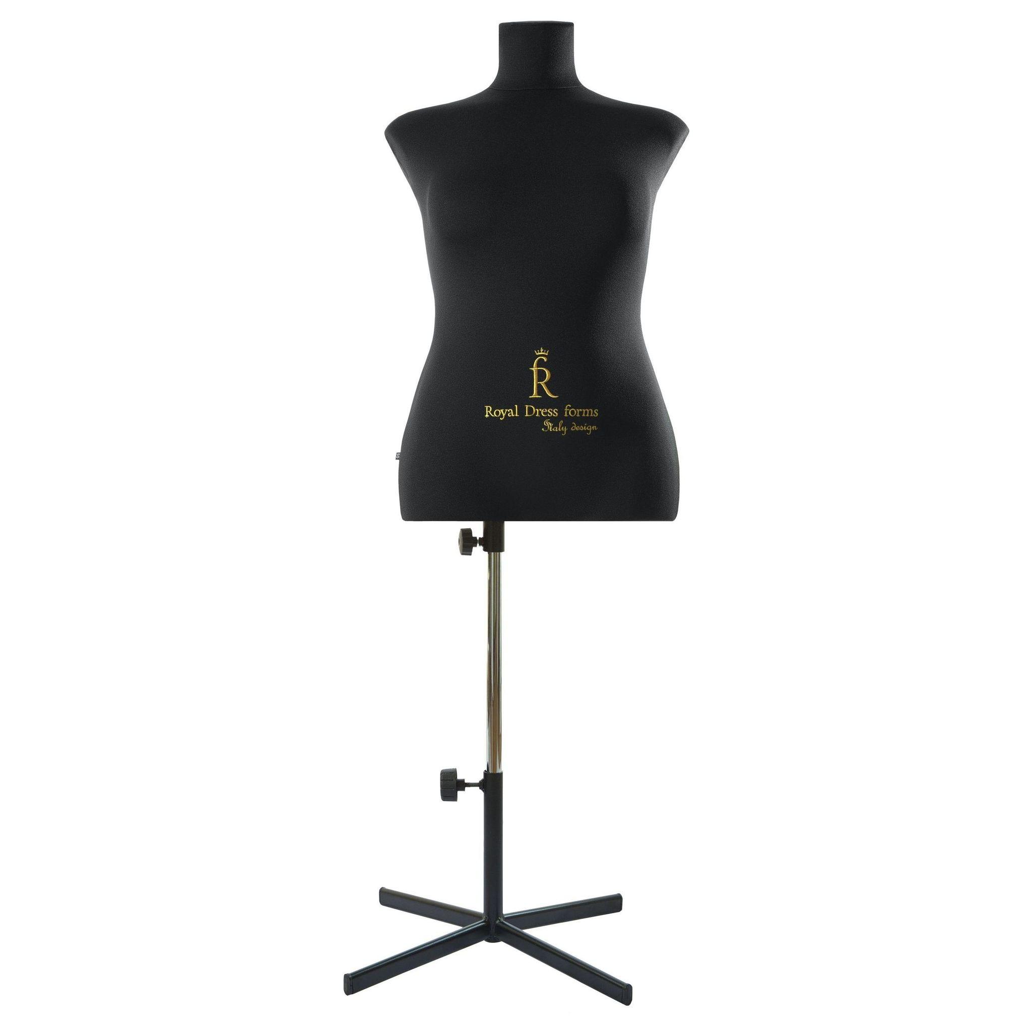 Манекен портновский Кристина, комплект Премиум, размер  50 ЧерныйФото 3