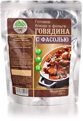 Туристическая еда Кронидов (Говядина с фасолью)