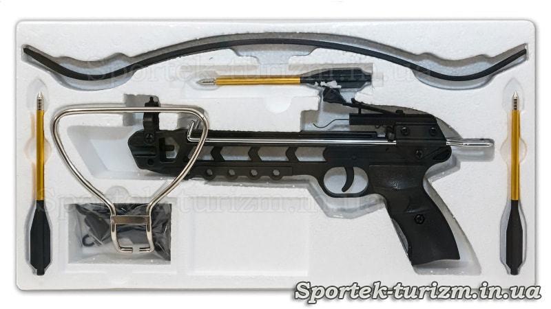 Упаковка пистолетного арбалета Man Kung MK-80A3